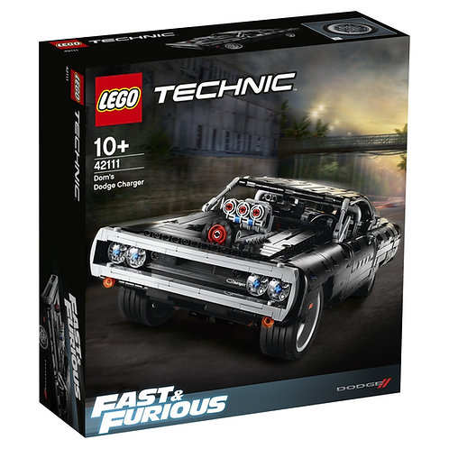 LEGO TECHNIC 42111 Dom's Dodge Charger / Dodge Charger Доминика Торетто