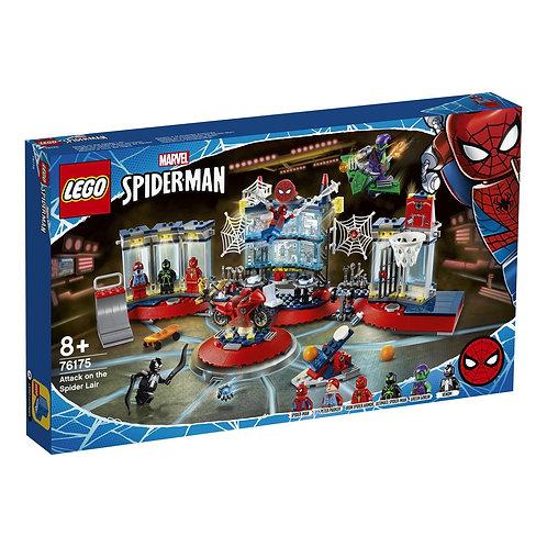 LEGO SUPER HERO 76175 Нападение на мастерскую паука