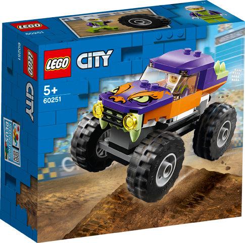 LEGO CITY 60251 Camion gigant / Грузовик-монстр