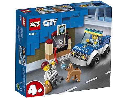 LEGO CITY 60241 Unitate de politie canina / Отдел полицейских собак