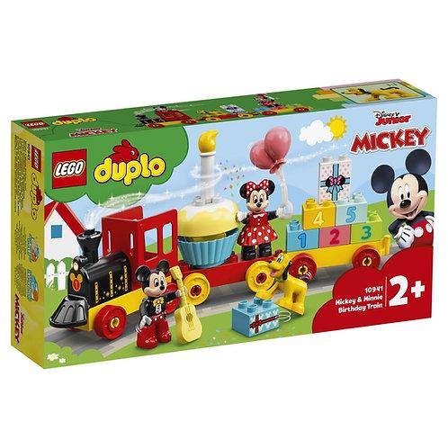 LEGO DUPLO 10941 Trenul aniversar Mickey si Minnie / Праздничный поезд Микки