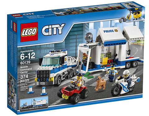 LEGO City 60139 Centru de comanda mobil / Мобильный командный центр