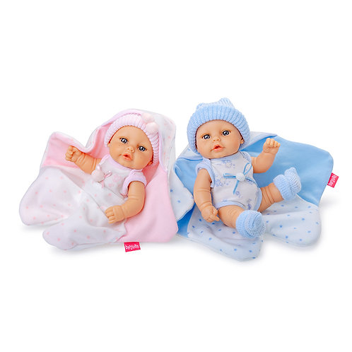 BERJUAN 20200 2 Papusi din vinil 20 cm / 2 Куклы виниловая 20 см