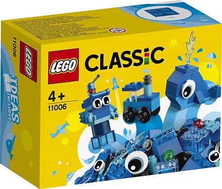 LEGO CLASSIC 11006 Caramizi creative albastre / Синий набор для конструирования