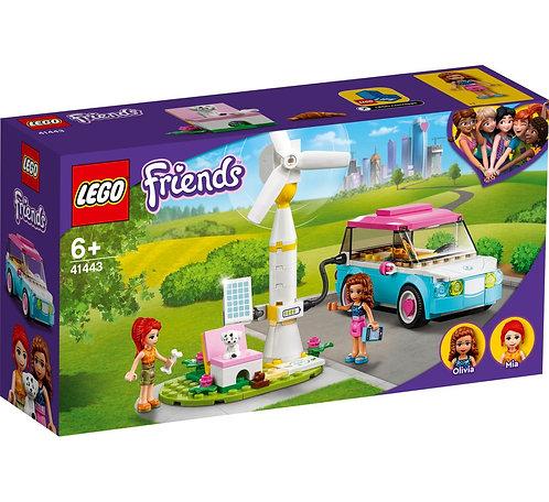 LEGO Friends 41443 Masina electrica a Oliviei / Электромобиль Оливии