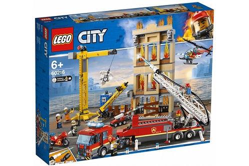 LEGO CITY 60216  Divizia pompierilor / Центральная пожарная станция