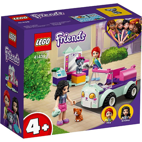 LEGO Friends 41439 Masinuta de ingrijire a pisicilor / Передвижной груминг-салон