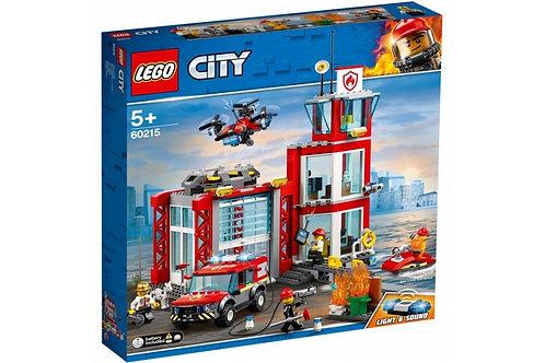 LEGO CITY 60215 Пожарное депо / Stat ie de pompieri