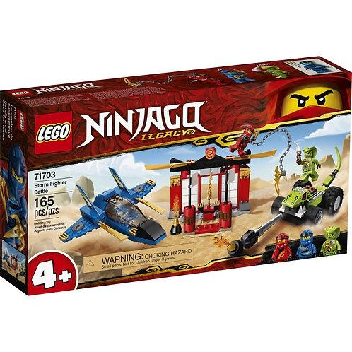 LEGO Ninjago 71703 Intrecere cu Avionul de lupta /