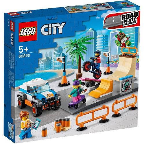 LEGO CITY 60290 Skate Park / Скейт-парк