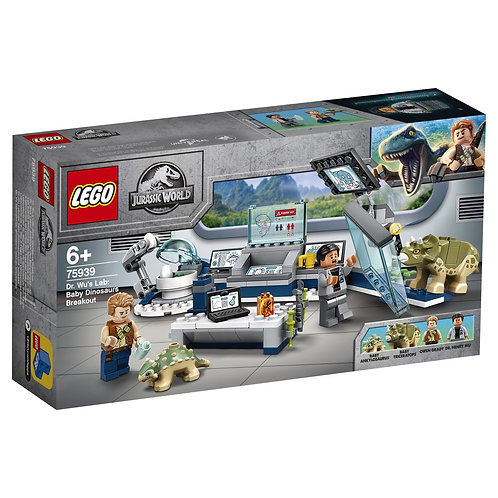 LEGO Jurassic World 75939 Laboratorul Dr. Wu / Лаборатория доктора Ву