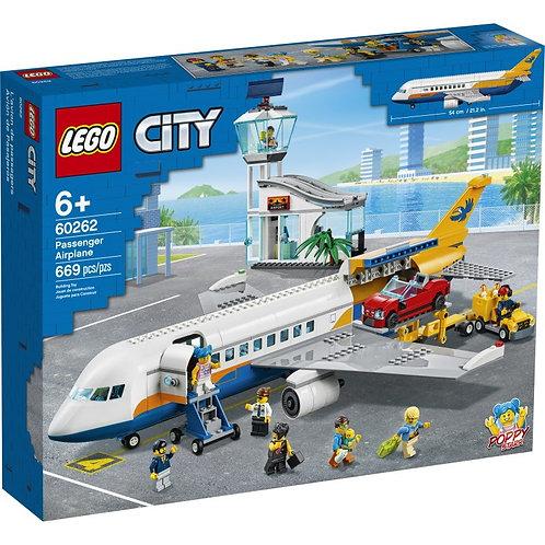 LEGO CITY 60262 Aeronave pentru pasageri / Пассажирский самолёт