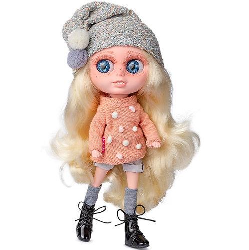 BERJUAN 24009 Papusa din vinil Chrissy Collins 32cm / Кукла виниловая 32см