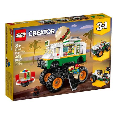 "LEGO CREATOR 31104 Camion gigant cu burger / Грузовик ""Монстрбургер"""