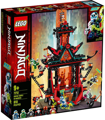 LEGO NINJAGO 71712 Templul Imperial al Nebuniei / Императорский храм Безумия