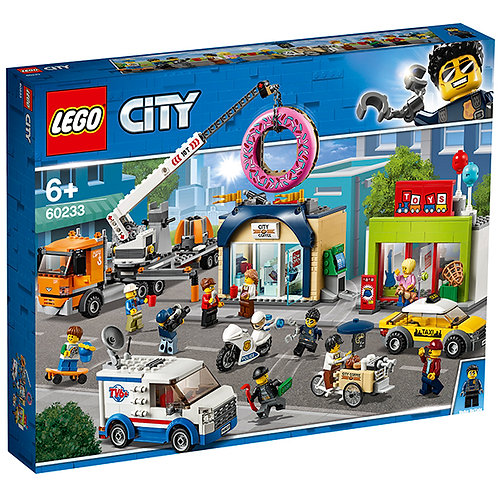 LEGO CITY 60233 Deschiderea magazinului / Открытие магазина по продаже пончиков