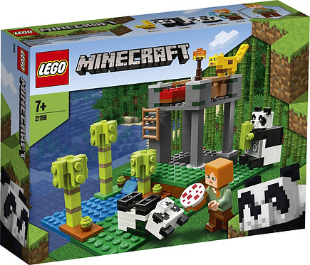 LEGO MINECRAFT 21158 Cresa ursilor panda / Питомник панд