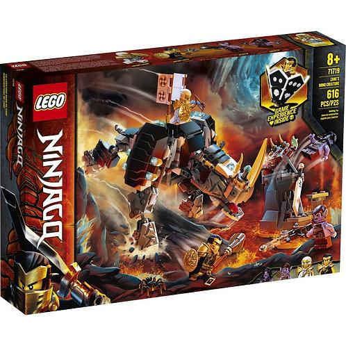 LEGO NINJAGO 71719 Zane's Ninja / Бронированный носорог Зейна