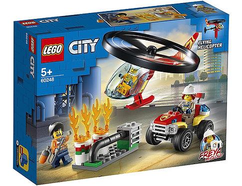 LEGO CITY 60248 Interventie cu elicopterul de pompieri/Вызов пожарного вертолета