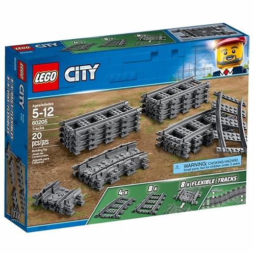 LEGO CITY 60205 Sine / Рельсы