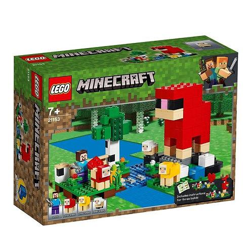 LEGO MINECRAFT 21153 Шерстяная ферма / Ferma cu oi