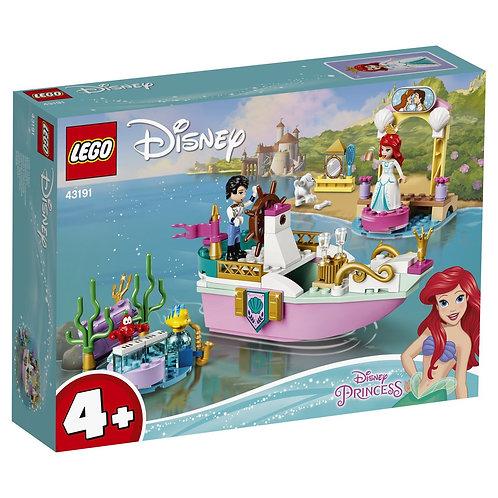 LEGO DISNEY 43191 Barcuta de sarbatoare a lui Ariel / Праздничный корабль Ариэль