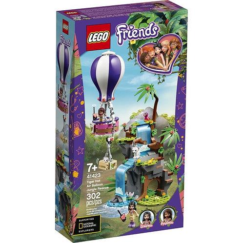 LEGO FRIENDS 41423 Salvarea unui tigru în junglă / Спасение тигра на воздушном