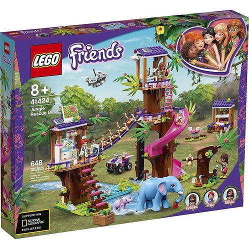 LEGO FRIENDS 41424 Baza de salvare din jungla / Джунгли Штаб спасателей