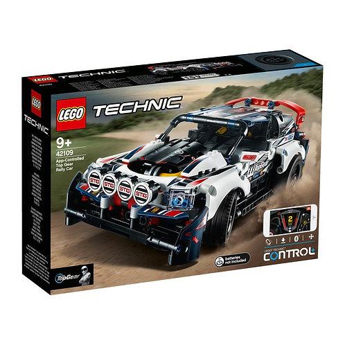LEGO TECHNIC 42109 Rally auto Top Gear / Раллийный автомобиль Top Gear