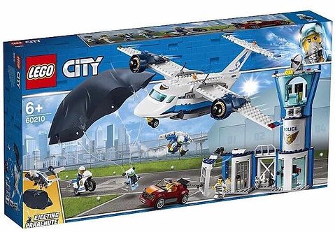 LEGO CITY 60210 Baza politiei aeriene / Воздушная полиция: авиабаза