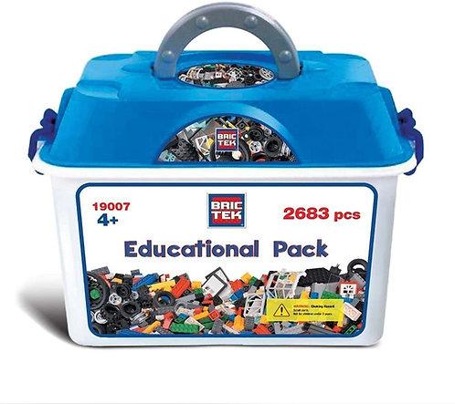 Bric Tek Educational Pack - 2683 Деталей