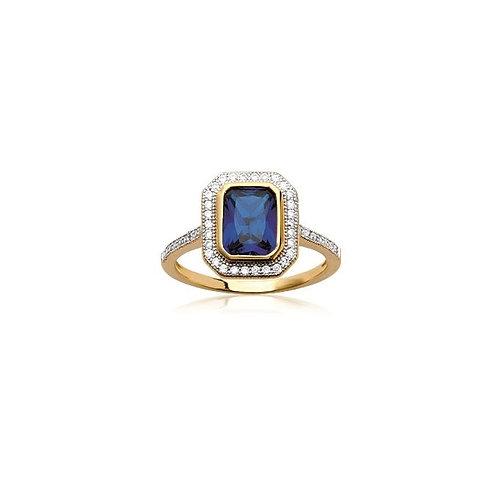 Inel regal cu zirconiu cubic / Кольцо королевы с кубическим цирконием