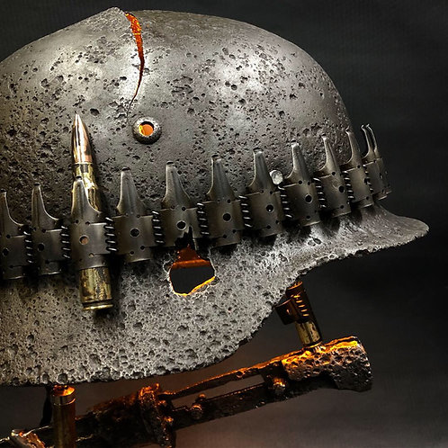 M35 German battle lamp