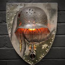 WW2 Anti Aircraft Wall Light