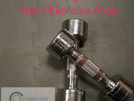 How To Organize a Home Exercise Area