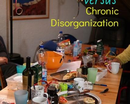 Compulsive Hoarding Versus Chronic Disorganization
