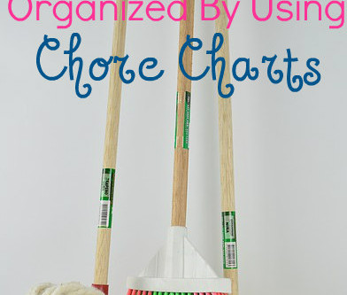 Get Your Kids Organized by Using Chore Charts