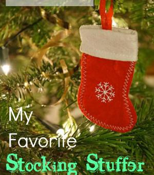 My Favorite Stocking Stuffer Picks