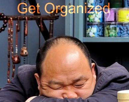 5 Lazy Ways to Get Organized