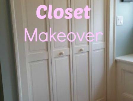 A Baby Closet Makeover