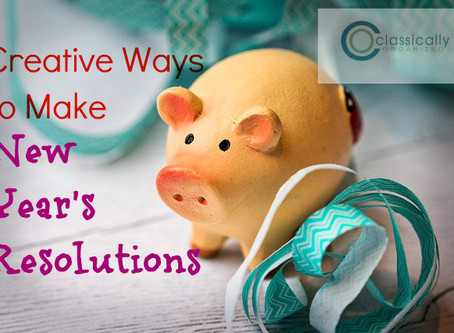 Creative Ways to Make New Year's Resolutions