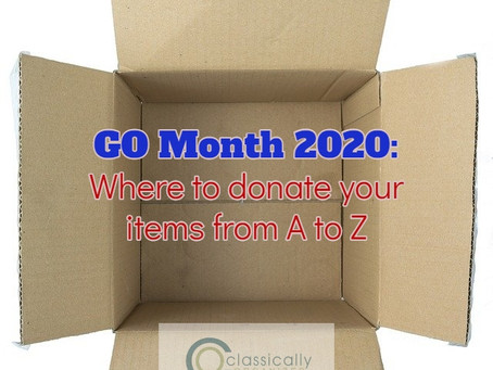 """GO Month - """"M"""" Donations"""
