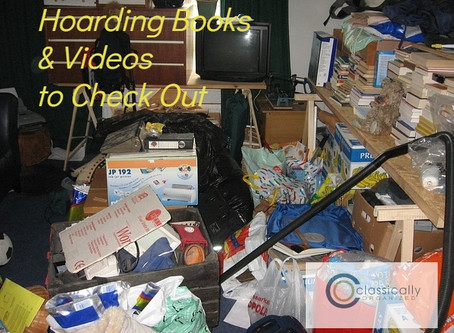 Hoarding Books & Videos to Check Out