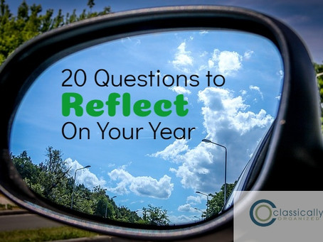 20 Questions to Reflect on Your Year