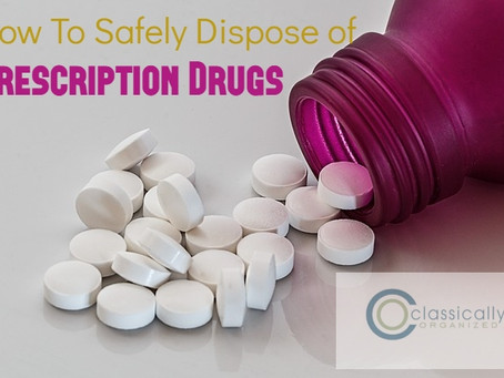 How To Safely Dispose of Prescription Drugs
