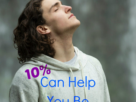 10% Can Help You be More Organized