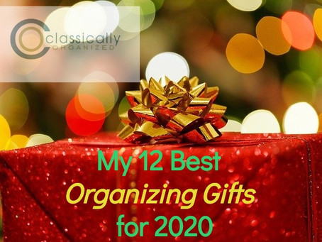 My 12 Best Organizing Gifts for 2020