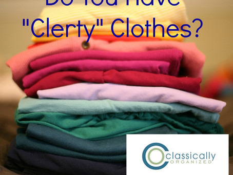 Do You Have CLERTY Clothes?