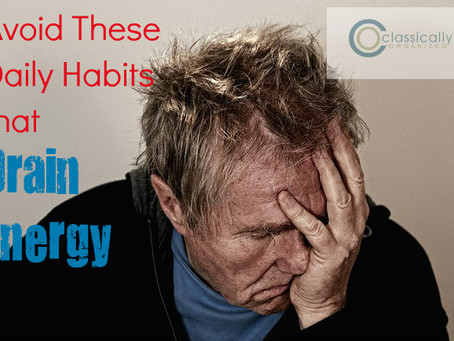 Avoid These Daily Habits that Drain Energy