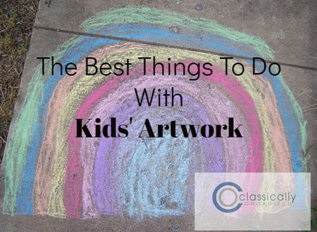 The Best Things to do With Kids' Artwork